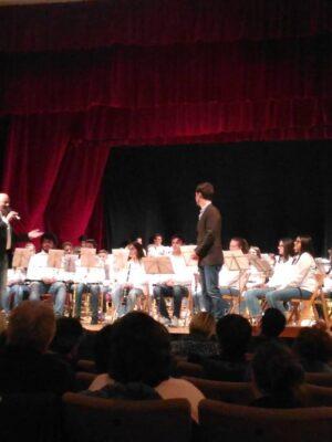 Concerto del piccolo principe, formazione Junior in collaborazione con la banda di Aldeno, 2019