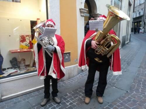 Natale a Rovereto, gruppo Ottoni