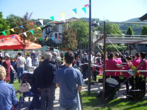 Inaugurazione parco casa di riposo