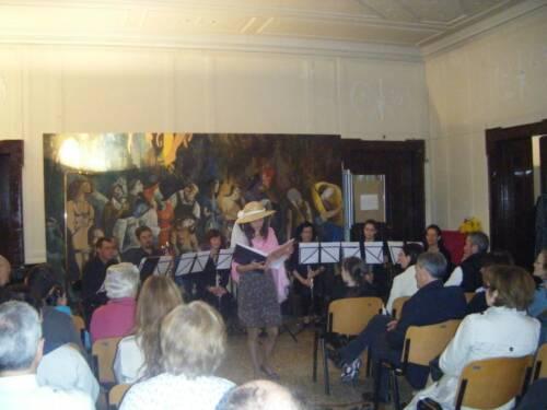 Spettacolo gruppo clarinetti