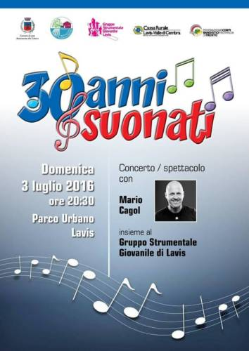 30 anni suonati - GSGL & Mario Cagol (2016)