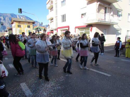 Sfilata di carnevale a Lavis