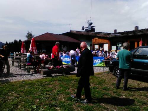 """Concerto al """"Rifugio Doss del Sabbion"""" di Pinzolo per rassegna """"bande in alta quota"""", 24 luglio 2016"""
