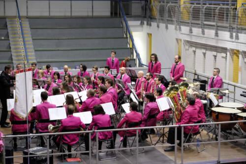 """Tradizionale concerto di buon anno formazione """"Junior"""", 1 gennaio 2018"""
