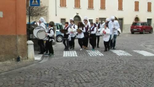 """Sfilata per carnevale a Lavis a tema """"cuochi"""", 2018"""