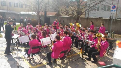 Concerto per la fiera della Lazzera a Lavis, 8 aprile 2018