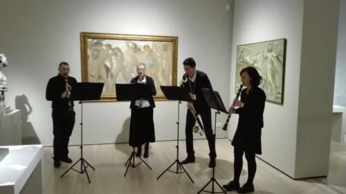 Concerto per mostra Isadora Dancan